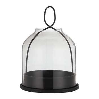 Design Project by John Lewis No.150 Smoke Glass Lantern, Medium (H15.5 x W10 x D10cm)