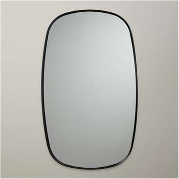 Design Project by John Lewis No.161 Mirror, Black (H91.4 x W55.8 x D3.4cm)