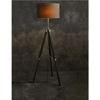 Devon Floor Lamp, Grey (152 x 45cm)