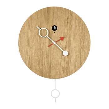 Diamantini & Domeniconi - Cipasso Cucù Clock - Oak Natural (H45 x W45cm)