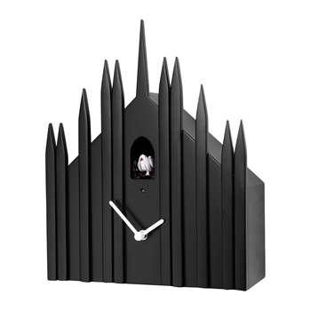 Diamantini & Domeniconi - Duomo Wall Clock - Black (H31 x W25 x D10cm)