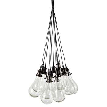 DIDEROT glass pendant lamp (190 x 45cm)