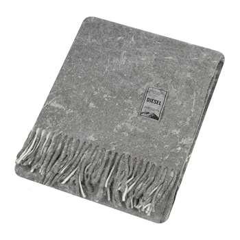Diesel Living - Urban Texture Throw - Grey (H130 x W170cm)