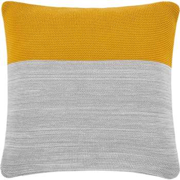 Digby 100% Cotton Knitted Cushion, Multi (50 x 50cm)