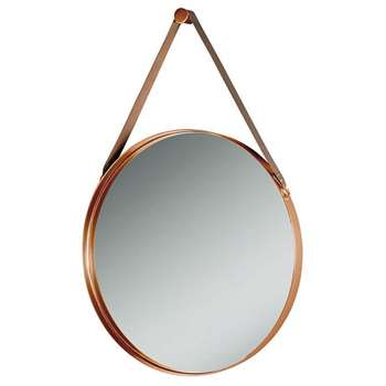 Dipre Wall Mirror Copper (Diameter 60cm)