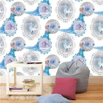 Disney Frozen Elsa Wallpaper, Blue