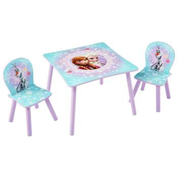 Disney Frozen Table and 2 Chairs (H52.5 x W29.5 x D29cm)