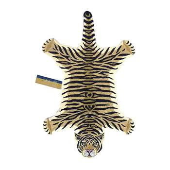 Doing Goods - Drowsy Tiger Rug - Brown - Large (H150 x W91 x D2cm)