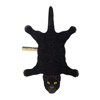 Doing Goods - Fiery Black Panther Rug - Small (H150 x W90 x D2cm)