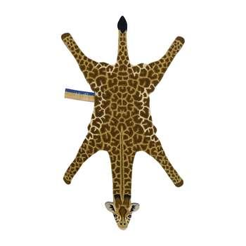 Doing Goods - Gimpy Giraffe Rug - Orange - Large (H188 x W97 x D2cm)