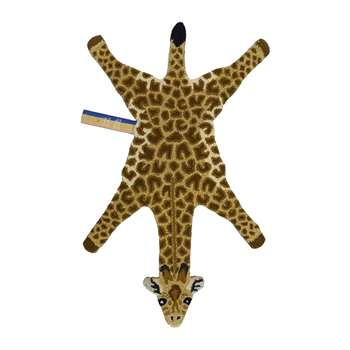 Doing Goods - Gimpy Giraffe Rug - Orange - Small (H118 x W68 x D2cm)