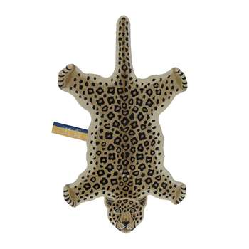 Doing Goods - Loony Leopard Rug - Brown - Large (H150 x W91 x D2cm)