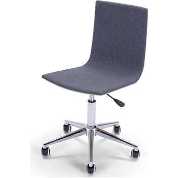 Dolly Office Chair, Ash and Grey (86 x 59cm)