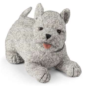 Dora Designs - Doorstop in Minty The Westie Design (Height 33cm)