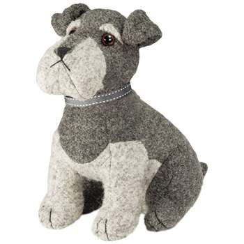 Dora Designs - Sugar Bear The Schnauzer Doorstop (Height 27cm)