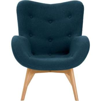 Doris Accent Chair, Shetland Navy (89 x 74cm)