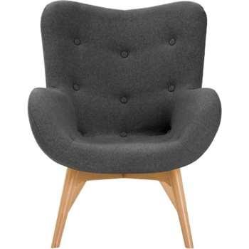 Doris Accent Chair, Shetland Slate (89 x 74cm)