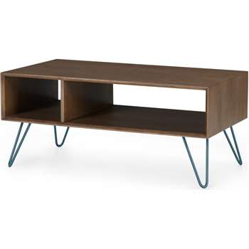 Dotty Coffee table, Dark Stain (H40 x W90 x D50cm)