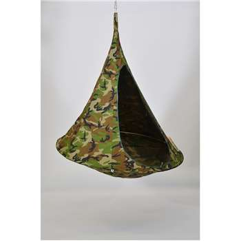 Double Hanging Cacoon in Camouflage (150 x 180cm)