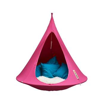 Double Hanging Cacoon in Fuchsia Pink (150 x 180cm)