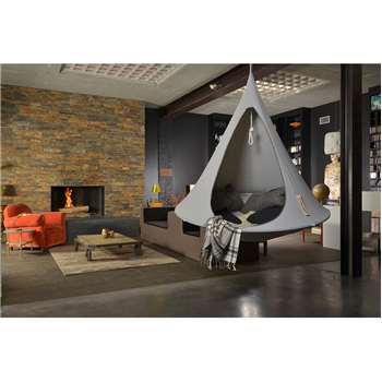 Double Hanging Cacoon in Grey (150 x 180cm)