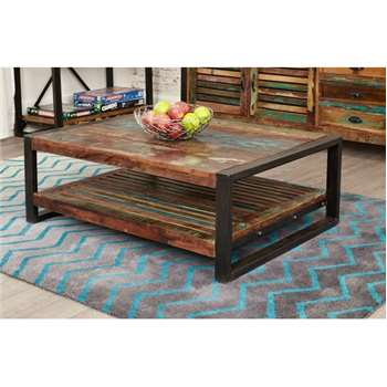 Downtown Modern Rectangular Coffee Table (35 x 100cm)