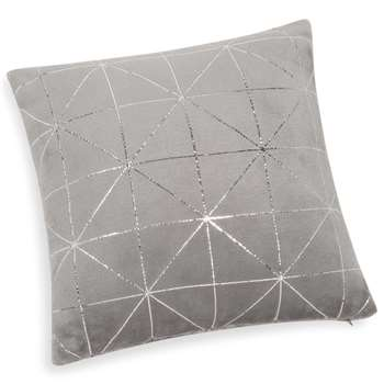 DOWNTOWN soft grey cushion 40 x 40 cm