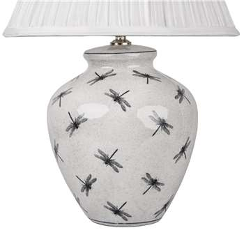 Dragonfly Ceramic Lamp Base (31 x 28cm)