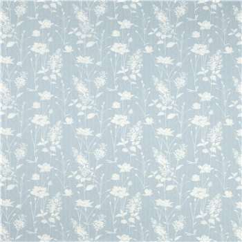 Dragonfly Garden Chalk Blue Wallpaper