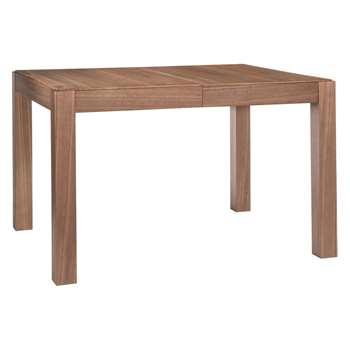Drio 4-10 seat walnut extending dining table (75 x 120-240cm)