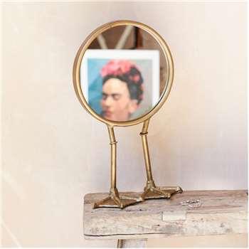 Duck Feet Table Mirror (Height 36cm)