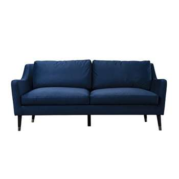 Dumont Three Seat – Blue (H90 x W200 x D90cm)