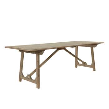 Duncliffe Dining Table - Burnt Oak (76 x 240cm)