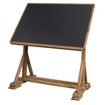 Dutchbone Drawing Desk with Tilt Function (110.5-141.5 x 125cm)
