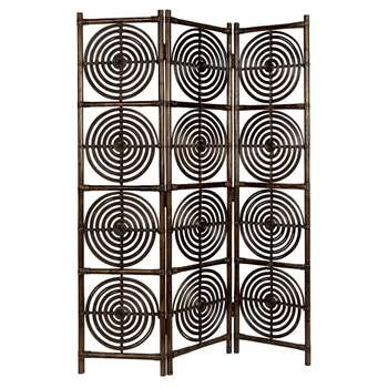 Dutchbone Rumour Room Divider - Brown (H179.5 x W117 x D25cm)