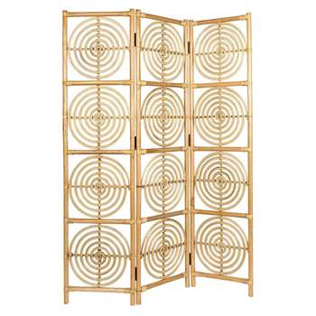 Dutchbone Rumour Room Divider - Natural (H179.5 x W117 x D25cm)