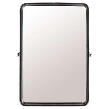 Dutchbone Tiltable Poke Wall Mirror - Large (H60 x W40.5 x D8.5cm)