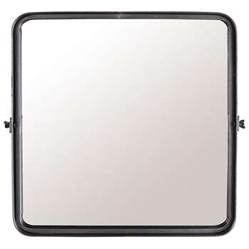 Dutchbone Tiltable Poke Wall Mirror - Medium (H40.5 x W40.5 x D8.5cm)