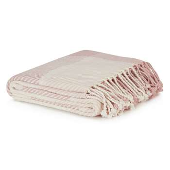 Dylan Blush Throw (150 x 200cm)