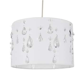 Earlane Pendant Light Shade White (H20 x W30 x D30cm)