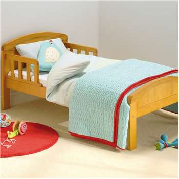 East Coast Country Toddler Bed  - Country Pine (H66 x W79 x D148cm)
