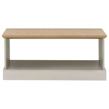 Easton Coffee Table - Grey (H43 x W100 x D58cm)