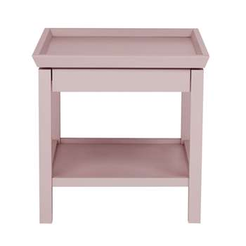 Editions: Conway Blush Side Table (H55 x W55 x D60cm)