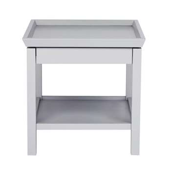 Editions: Conway Silver Side Table (H55 x W55 x D60cm)