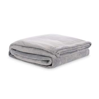 Editions Jacquard Fleece Slate Blanket (150 x 200cm)