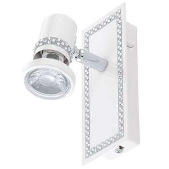 Eglo Bonares LED Spotlight White (H7 x W68.5cm)
