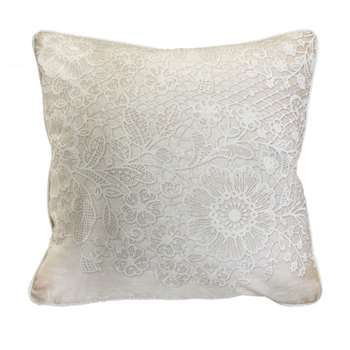 Elegant Lace Cushion (H50 x W50cm)