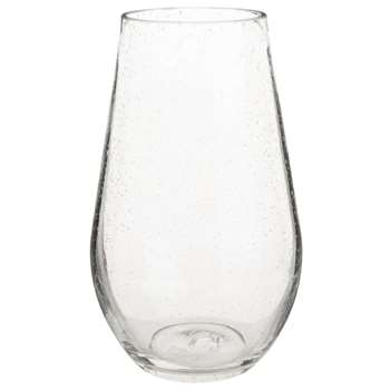ELEONORE - Bubble Glass Pear Vase (H25 x W16 x D16cm)