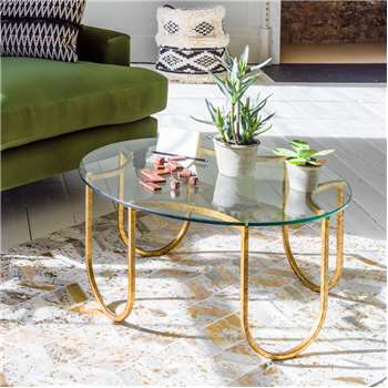 Ella U Coffee Table (H40 x W79 x D79cm)