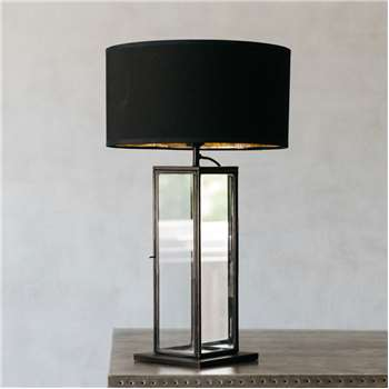 Elliot Tall Mirror Table Lamp (H48 x W17 x D17cm)